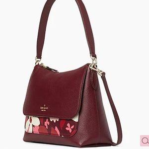 Kate Spade Melody Forest Floral Flap Shoulder Bag